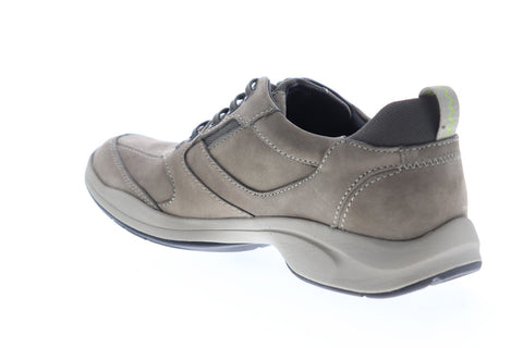 Clarks Wavekorey Fly 26112423 Mens Gray Nubuck Casual Lace Up Oxfords Shoes