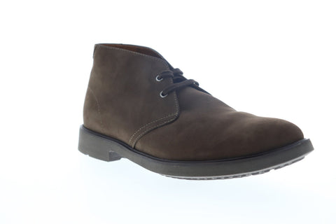 Clarks Riston Style 26114547 Mens Brown Leather Lace Up Chukkas Boots Shoes