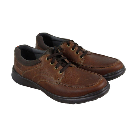 Clarks Cotrell Edge 26119804 Mens Brown Casual Lace Up Oxfords Shoes