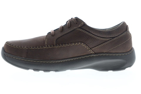 Clarks Charton Vibe 26121310 Mens Brown Wide 2E Casual Fashion Sneakers Shoes