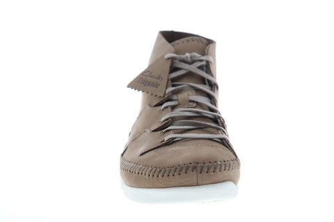 Clarks Trigenic Flow 26122583 Mens Brown Nubuck Casual Fashion Sneakers Shoes