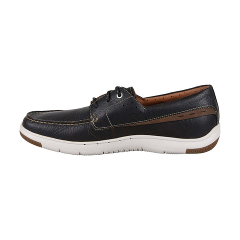 Clarks Unmaslow Edge Mens Brown Leather Casual Dress Boat Shoes
