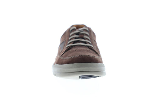 Clarks Unrhombus Go 26127959 Mens Brown Nubuck Lace Up Low Top Sneakers Shoes