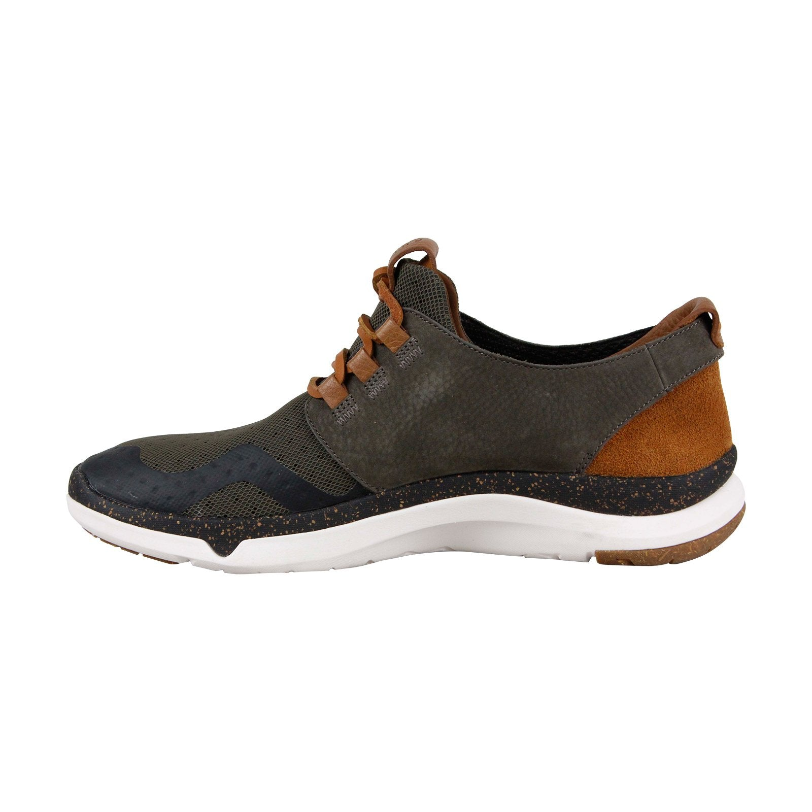 Polare insediamento jog  Clarks Privo Motion 26132785 Mens Gray Mesh Lace Up Lifestyle Sneakers -  Ruze Shoes