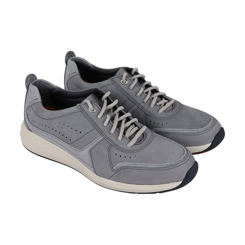 Clarks Un Coast Form Mens Gray Textile Low Top Lace Up Sneakers Shoes
