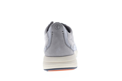 Clarks Un Coast Form Mens Gray Nubuck Low Top Lace Up Sneakers Shoes