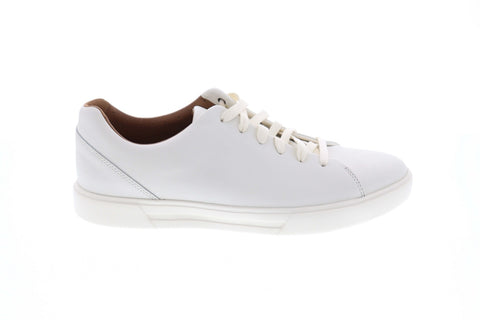 Clarks Un Costa Lace Mens White Comfort Casual Fashion Sneakers Shoes