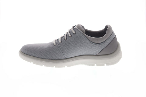 Clarks Tunsil Ace 26141503 Mens Gray Canvas Comfort Lifestyle Sneakers Shoes