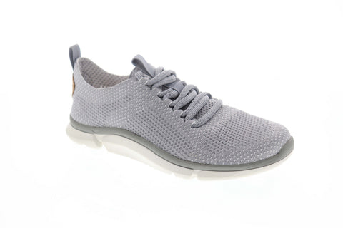Clarks Triken Run 26142093 Mens Gray Canvas Comfort Lifestyle Sneakers Shoes