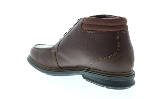 Clarks Rendell Rise 26145351 Mens Brown Wide 2E Leather Lace Up Chukkas Boots