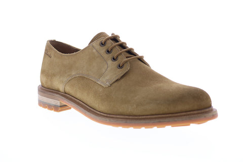 Clarks Foxwell Hall 26148006 Mens Brown Suede Casual Lace Up Oxfords Shoes