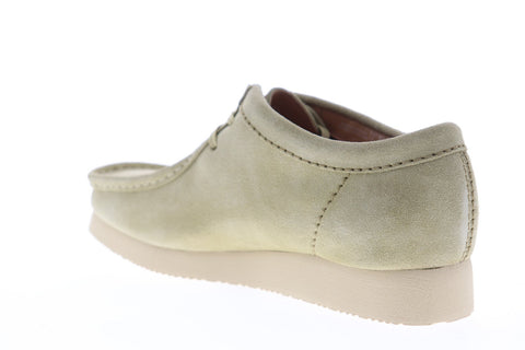 Clarks Wallabee GTX Supreme 26148321 Mens Gray Suede Casual Loafers Shoes