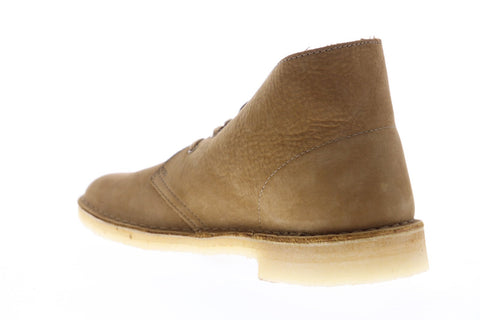 Clarks Desert Boot 26148536 Mens Brown Nubuck Lace Up Desert Boots Shoes