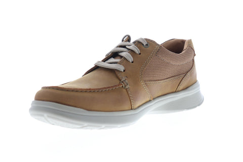 Clarks Cotrell Lane 26148651 Mens Brown Leather Casual Lace Up Oxfords Shoes