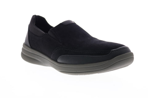 Clarks Stepstrolledge 26148970 Mens Black Wide 2E Lifestyle Sneakers Shoes