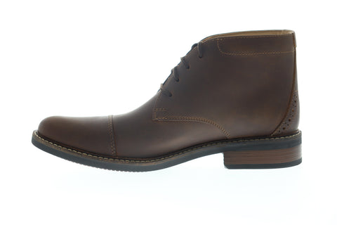 Clarks Maxton Mid Commonwealth 26150613 Mens Brown Chukkas Boots Shoes