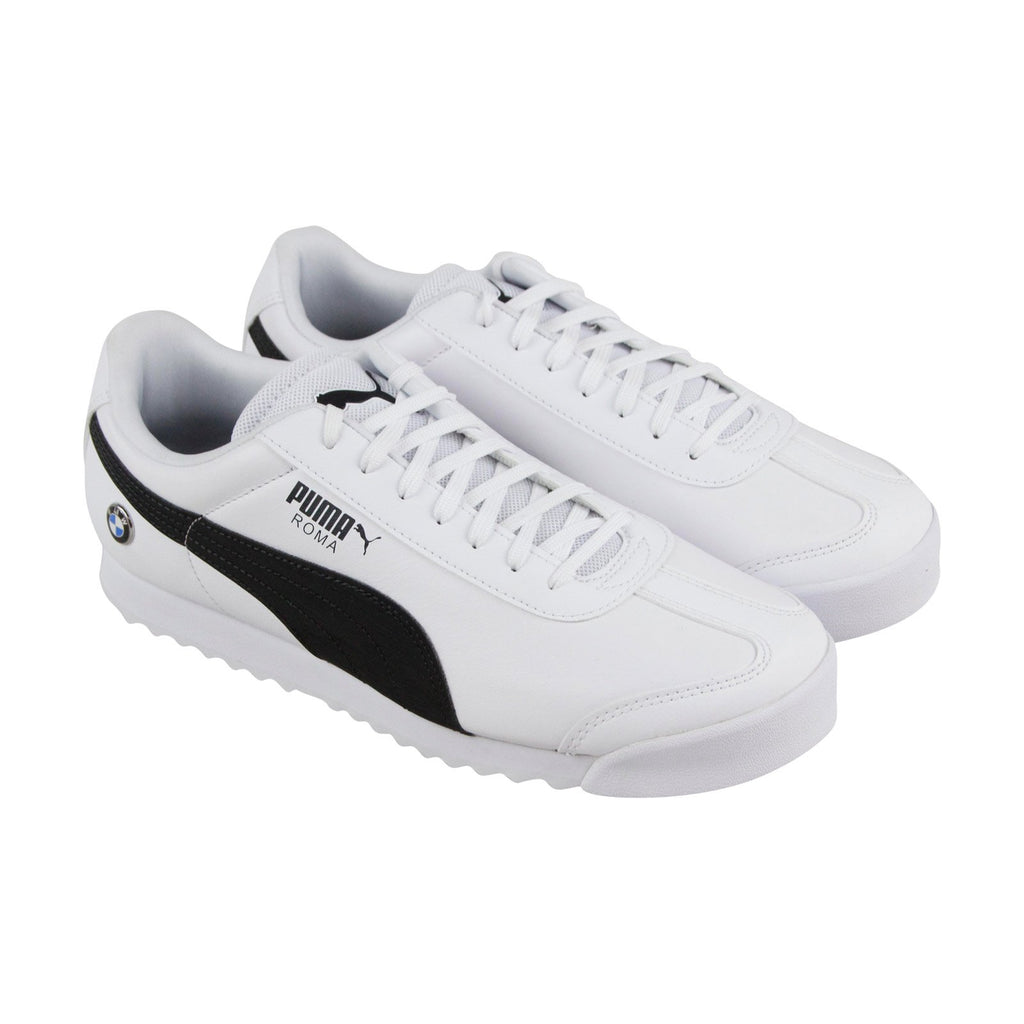 f1e8e3f318 Low Roma Mms Mens Up Puma Sneakers Lace Bmw Shoes White Leather Top tChxQrds