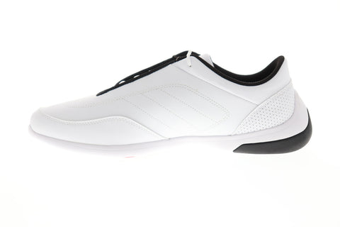 Puma Sf Kart Cat III Mens White Synthetic Athletic Lace Up Racing Shoes
