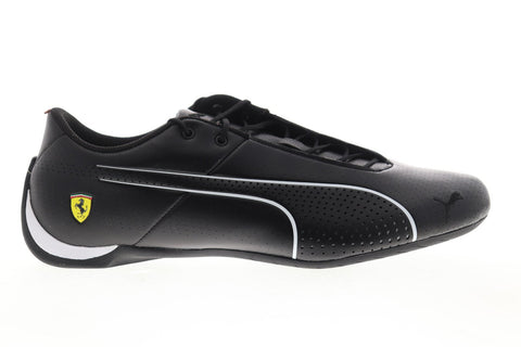 Puma Scuderia Ferrari Future Cat Ultra 30624102 Mens Black Leather Athletic Racing Shoes
