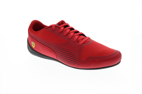 Puma SF Drift Cat 7 Ultra Mens Red Synthetic & Canvas Athletic Racing Shoes