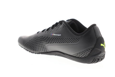 Puma Bmw Mms Drift Cat 5 Ultra II Mens Black Leather Athletic Racing Shoes