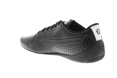 Puma Bmw Mms Drift CatS Ultra Mens Black Leather Athletic Racing Shoes