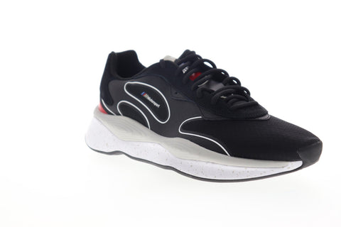 Puma BMW MMS RS-Pure 30650601 Mens Black Canvas Low Top Sneakers Shoes