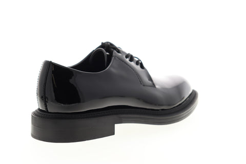 Calvin Klein Callen 34F0729-BLK Mens Black Low Top Plain Toe Oxfords Shoes