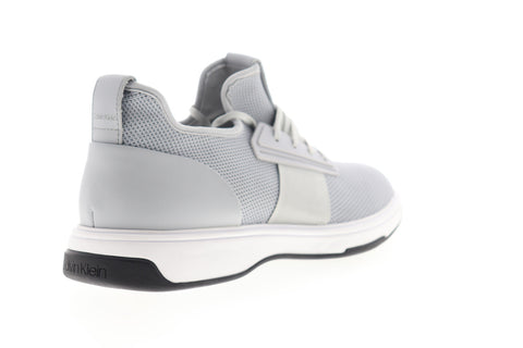 Calvin Klein Phyll 34F2044-BYG Mens Gray Mesh Low Top Designer Sneakers Shoes