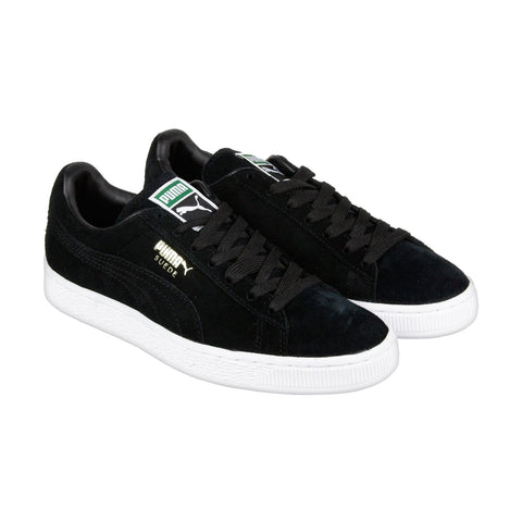 Puma Suede Classic+ 35263487 Mens Black Casual Low Top Sneakers Shoes