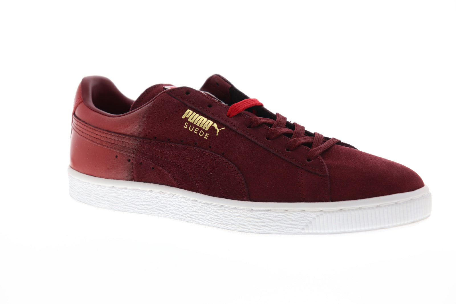 Mens Red Sneakers Up Puma Low Lace Suede Top Shoes ClassicBlur PikXZu