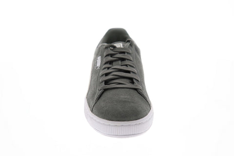 Puma Suede Classic + 36324207 Mens Gray Low Top Lace Up Lifestyle Sneakers Shoes