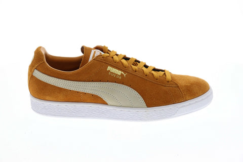 Puma Suede Classic + 36324223 Mens Brown Low Top Lifestyle Sneakers Shoes