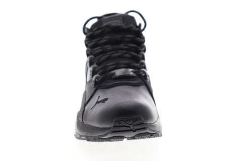 Puma BOG Sock Boot 36328301 Mens Black High Top Lace Up Lifestyle Sneakers Shoes