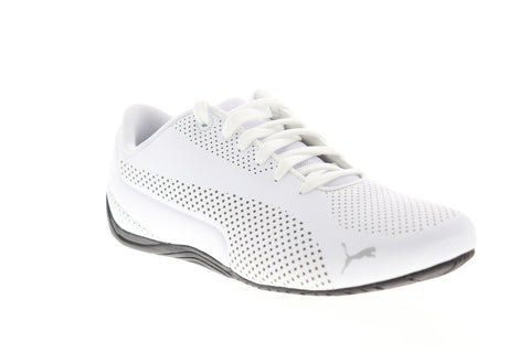 Puma Drift Cat Ultra Reflective 36381403 Mens White Athletic Racing Shoes