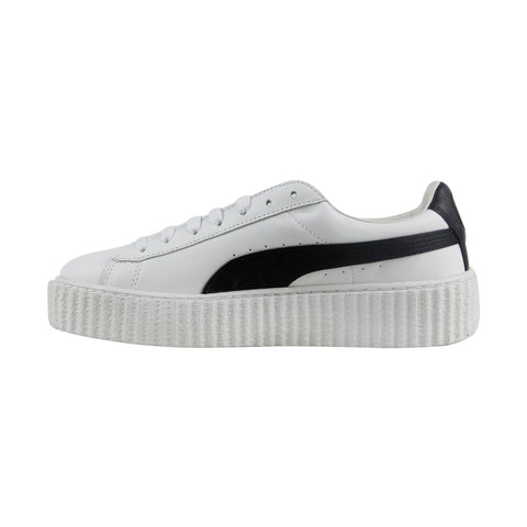 Puma Fenty By Rihanna Creeper Womens White Casual Lace Up Sneakers Shoes