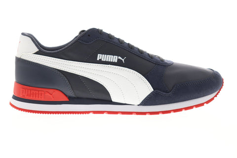 Puma ST Runner V2 NL 36527821 Mens Blue Canvas Low Top Sneakers Shoes