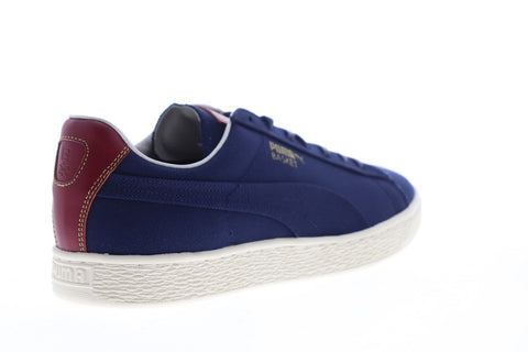 Puma Basket Mij Yachtlife 36531702 Mens Blue Canavs Athletic Basketball Shoes