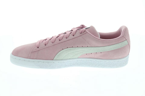 Puma Suede Classic 36534762 Mens Pink Low Top Lace Up Lifestyle Sneakers Shoes