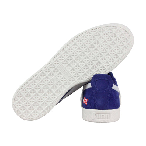 the best attitude 8c40a 074d8 Puma Clyde Rt Alife Mens Blue Suede Low Top Lace Up Sneakers ...