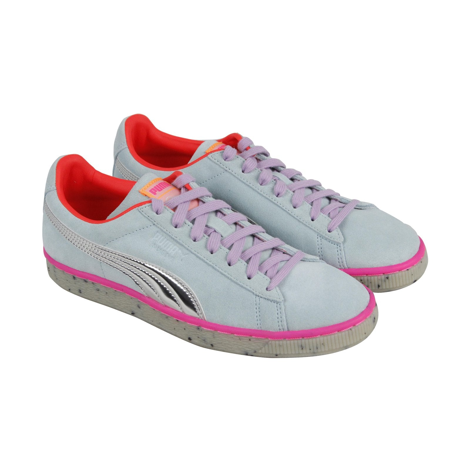 Puma Suede Candy Princess Sophia Webster Womens Blue Lace Up Sneakers Shoes