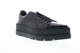 Puma Pointy Creeper Patent Wns 36627001 Womens Black Low Top Sneakers Shoes