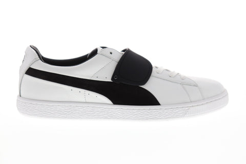 Puma Suede Classic X Karl Mens White Leather Low Top Lace Up Sneakers Shoes
