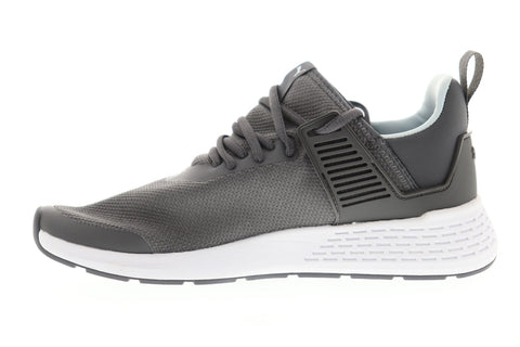 Puma Insurge Mens Gray Textile Low Top Lace Up Sneakers Shoes