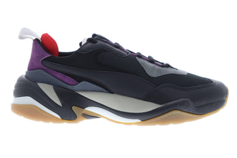 Puma Thunder Spectra 36751613 Mens Black Casual Lace Up Low Top Sneakers Shoes