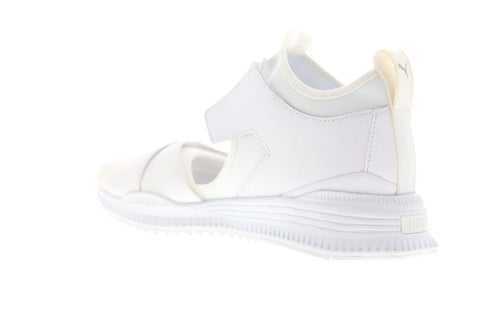 Puma Fenty Avid 36768202 Mens White Canvas Low Top Lifestyle Sneakers Shoes