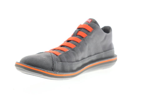 Camper Beetle  36791-047 Mens Gray Leather Lace Up Low Top Sneakers Shoes