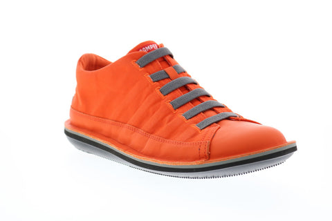 Camper Beetle 36791-049 Mens Orange Canvas Lace Up Euro Sneakers Shoes
