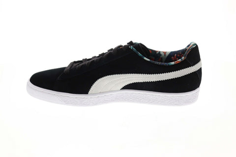 Puma Suede Secret Garden 36923801 Mens Black Casual Low Top Sneakers Shoes