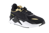 Puma RS-X Trophy 36945101 Mens Black Mesh Canvas Lace Up Low Top Sneakers Shoes